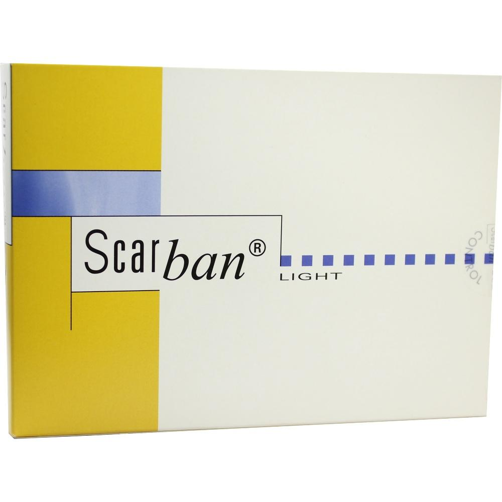 SCARBAN Light Silikonverband 5x30 cm