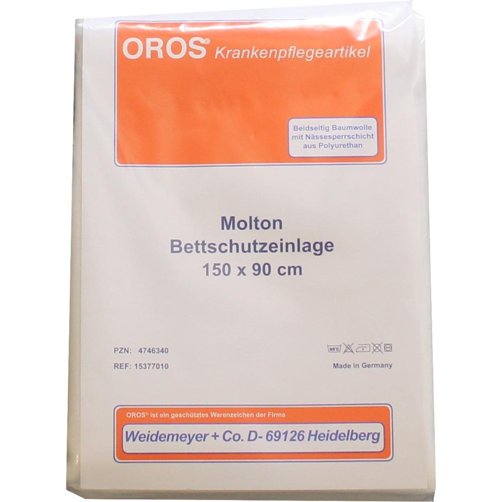 MOLTON BETTSCHUTZ Einlage 90x150 cm