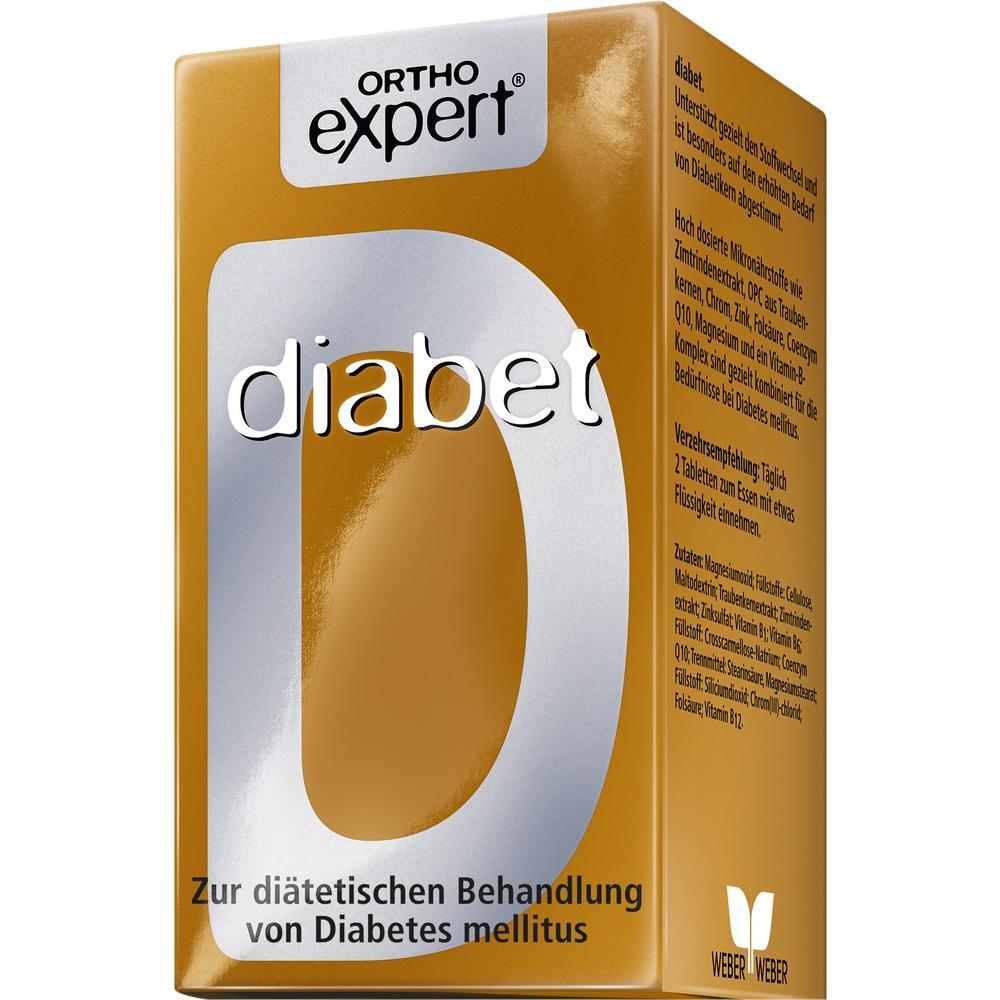 04757071, Orthoexpert diabet, 60 ST