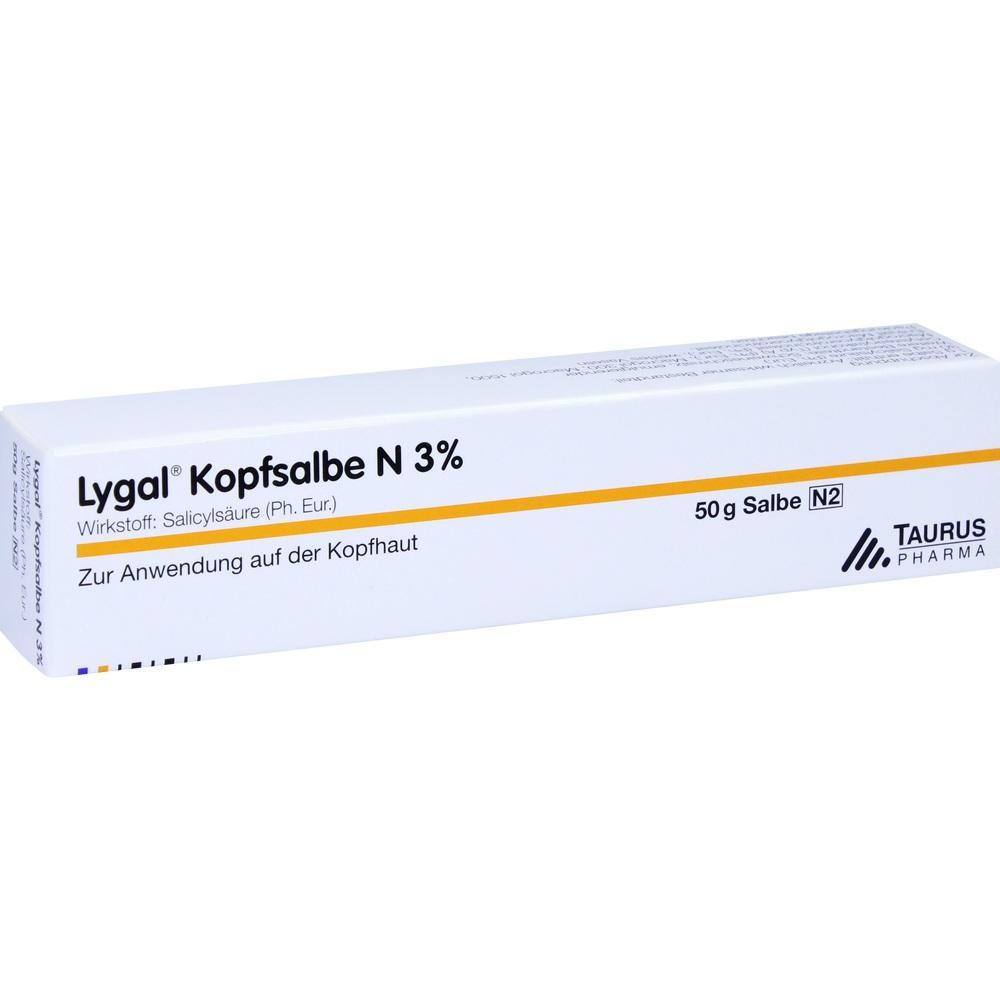 04758774, LYGAL KOPFSALBE N, 50 G