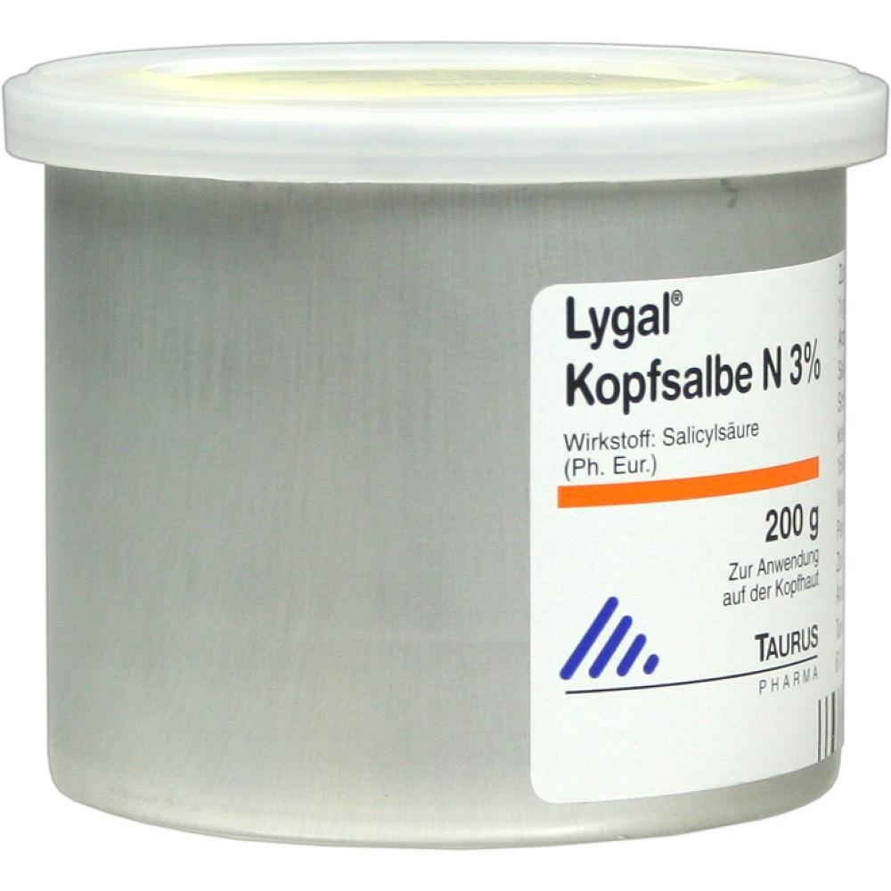04758780, LYGAL KOPFSALBE N, 200 G