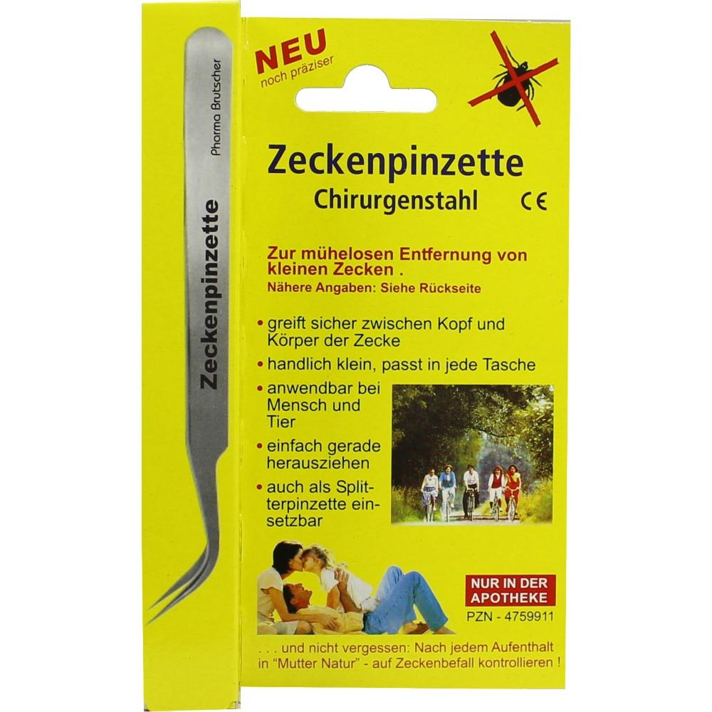 04759911, Zeckenpinzette-Chirurgenstahl, 1 ST