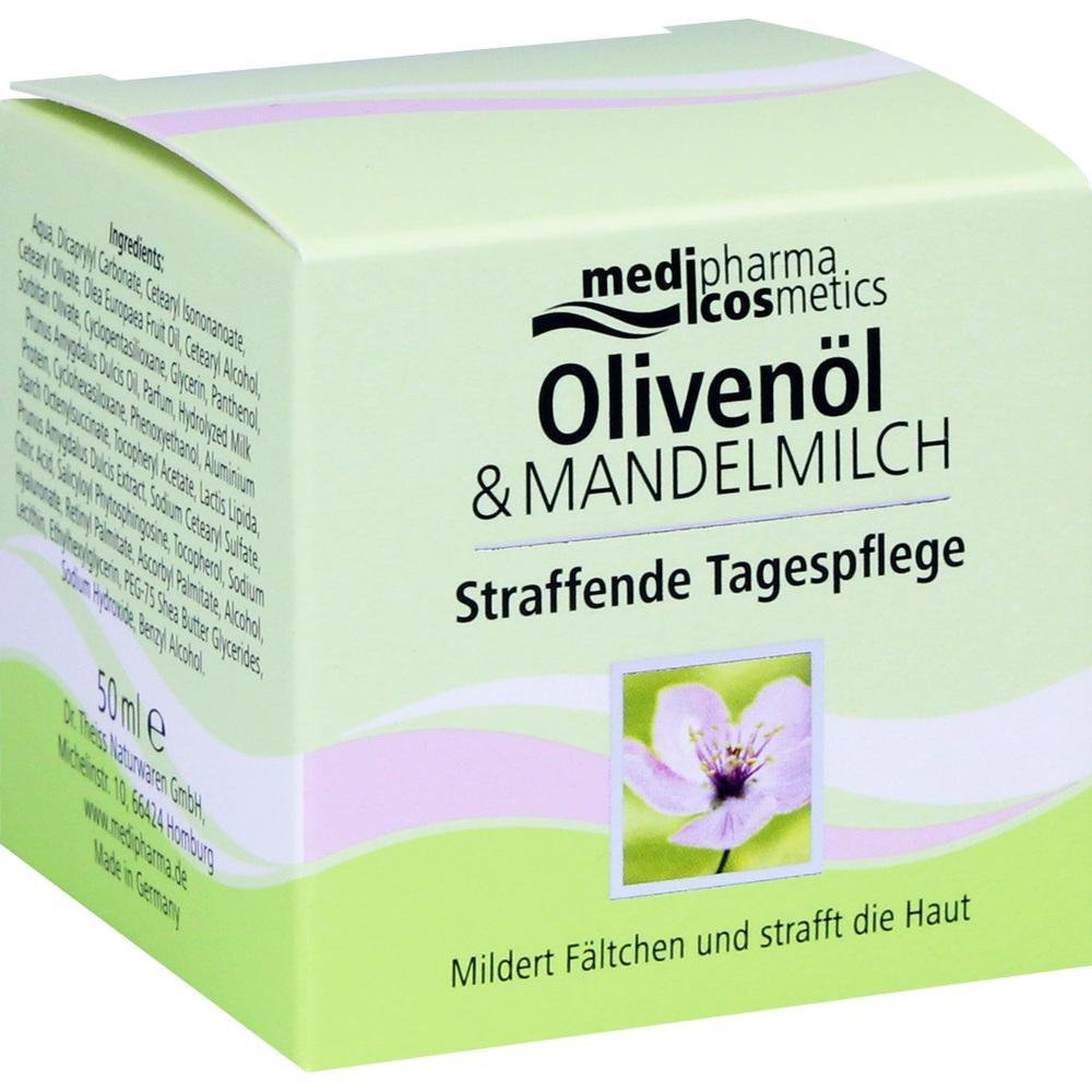 04768809, Oliven-Mandelmilch Straffende Tagespflege, 50 ML