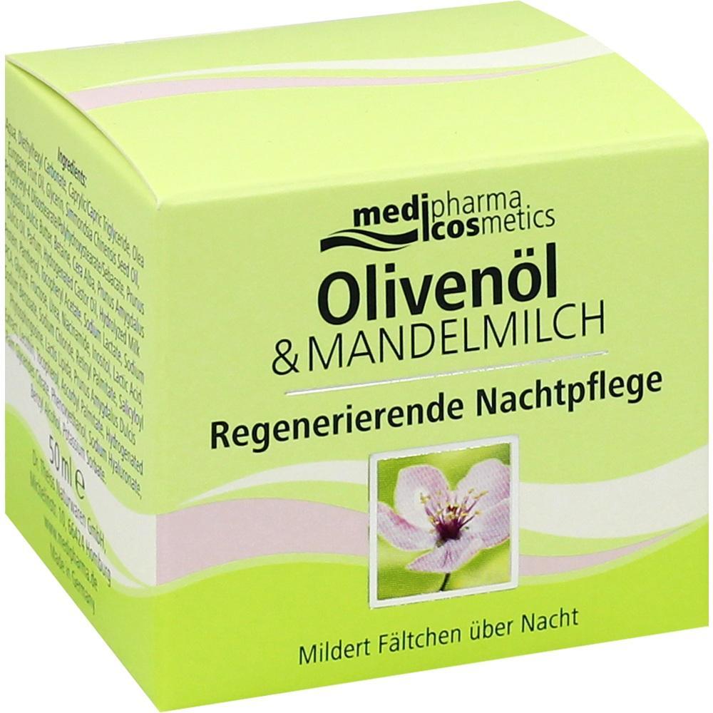04768815, Oliven-Mandelmilch Regenerierende Nachtpflege, 50 ML