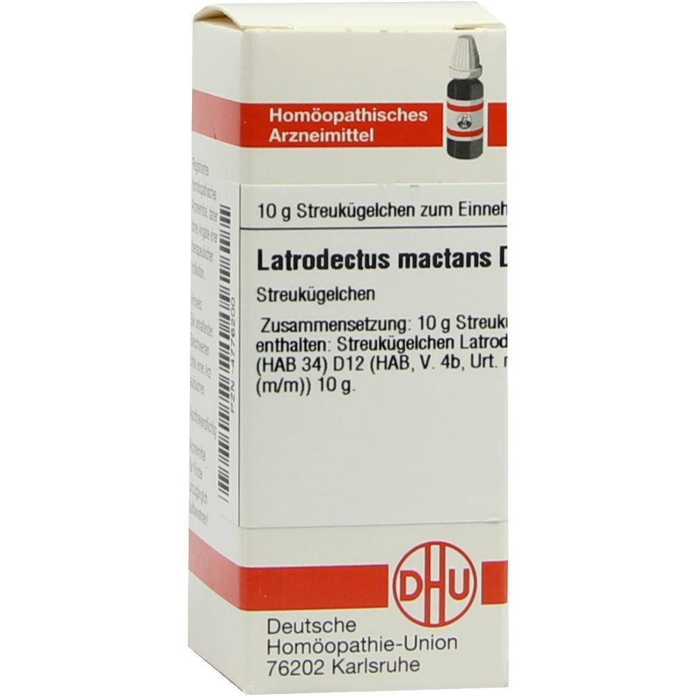 LATRODECTUS mactans D 12 Globuli