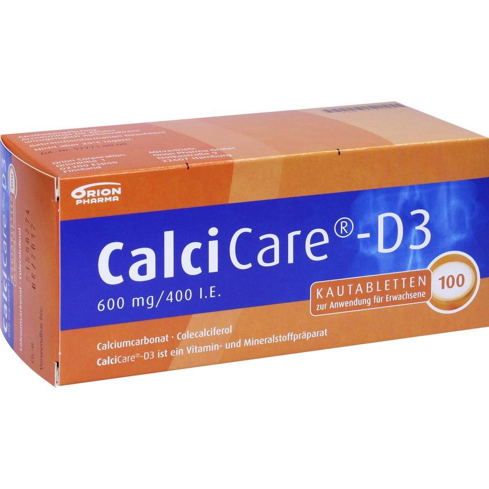 04787600, CalciCare D3, 100 ST