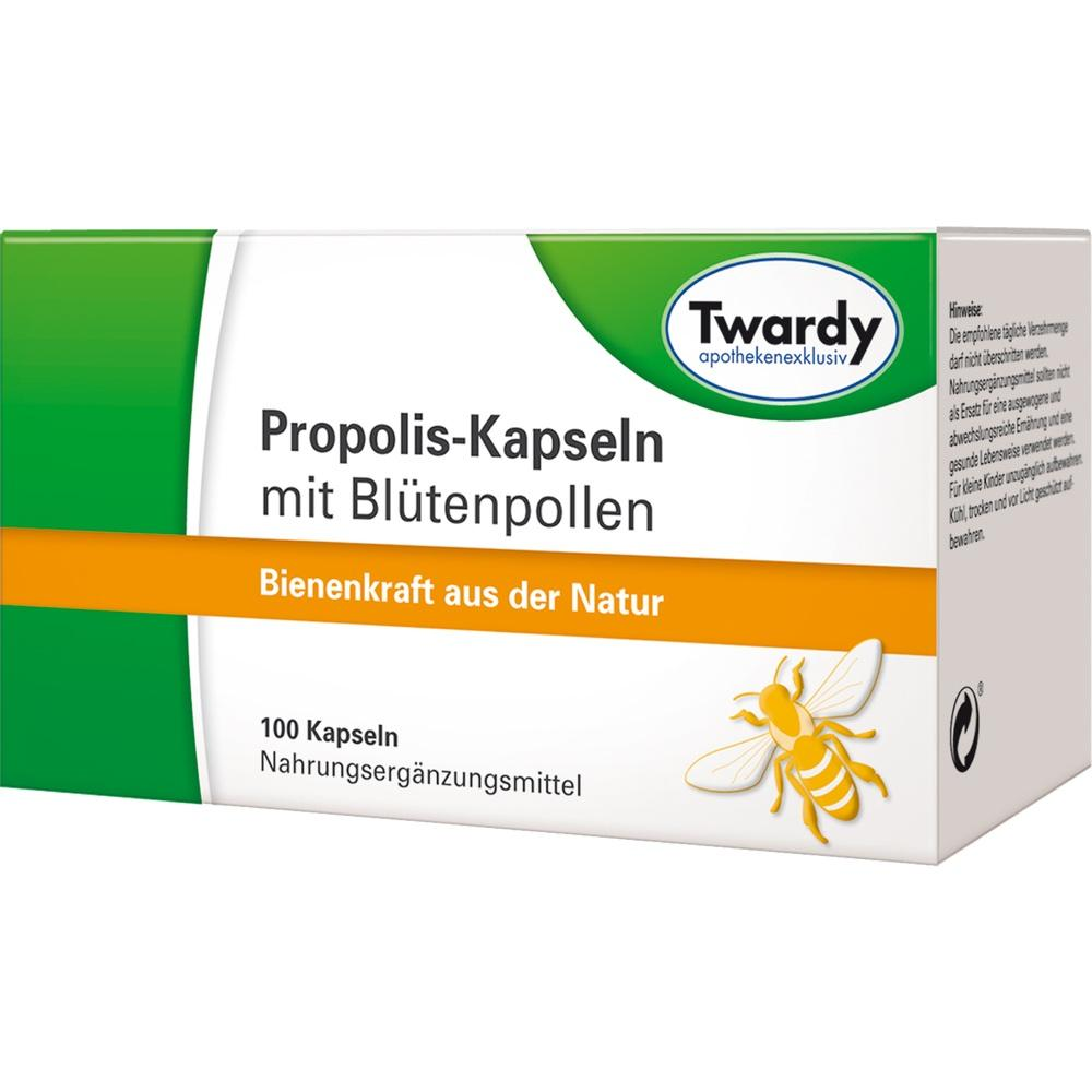 04811652, Propolis-Kapseln mit Blütenpollen, 100 ST