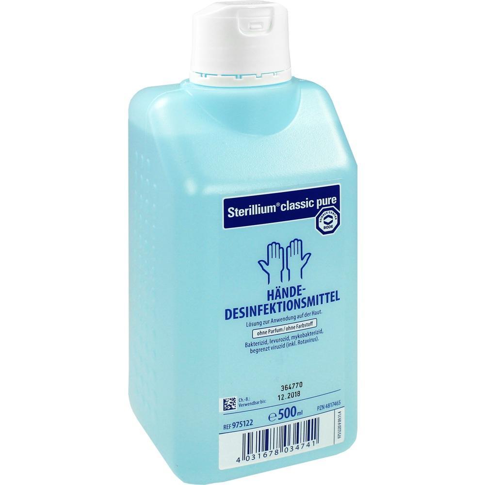 04817465, Sterillium classic pure, 500 ML