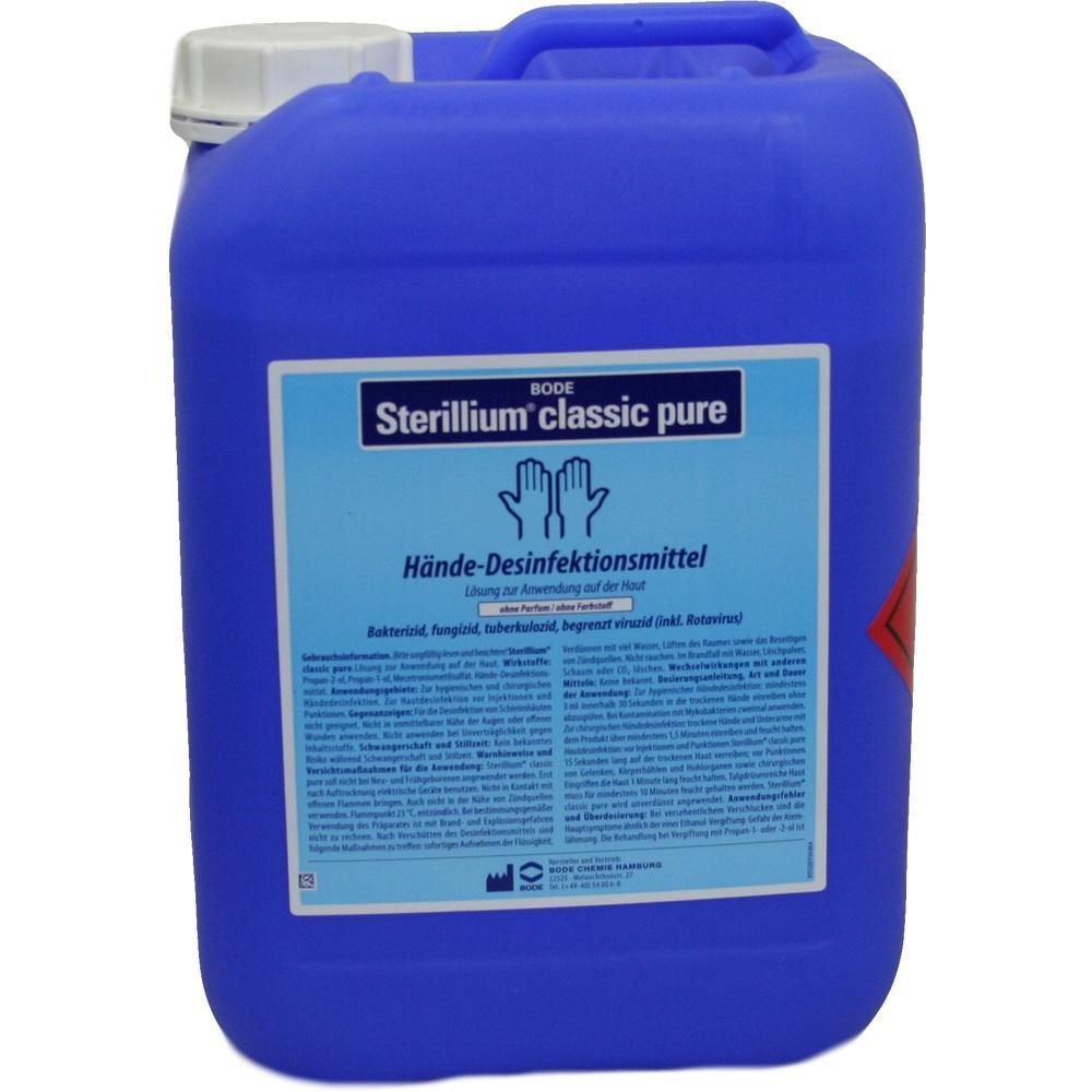 04818418, Sterillium classic pure, 5 L