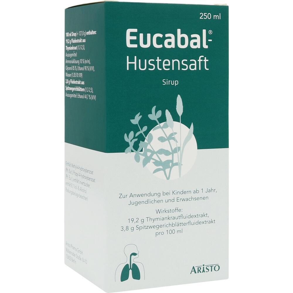 04827067, EUCABAL HUSTENSAFT, 250 ML