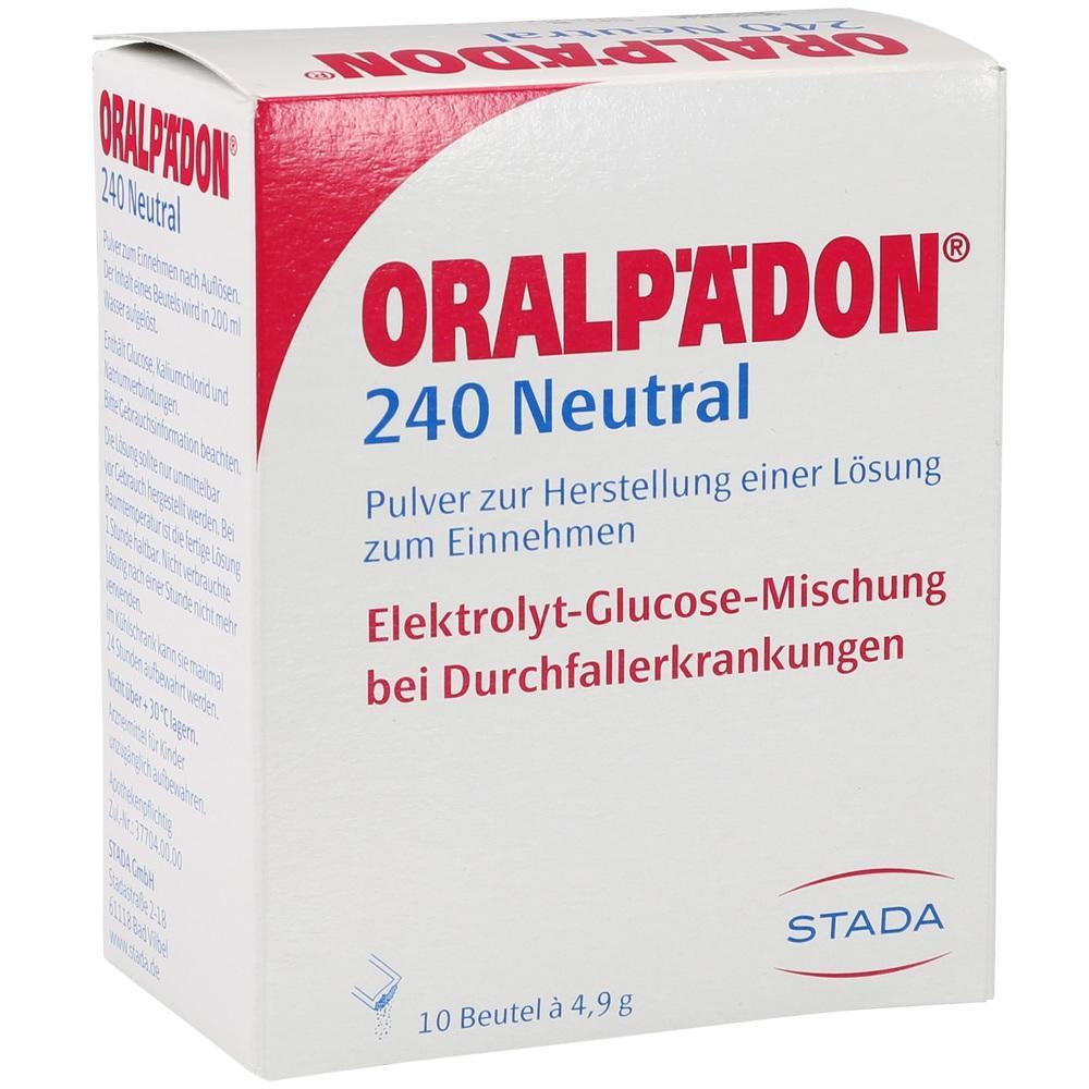 04827771, ORALPAEDON 240 NEUTRAL BTL, 10 ST