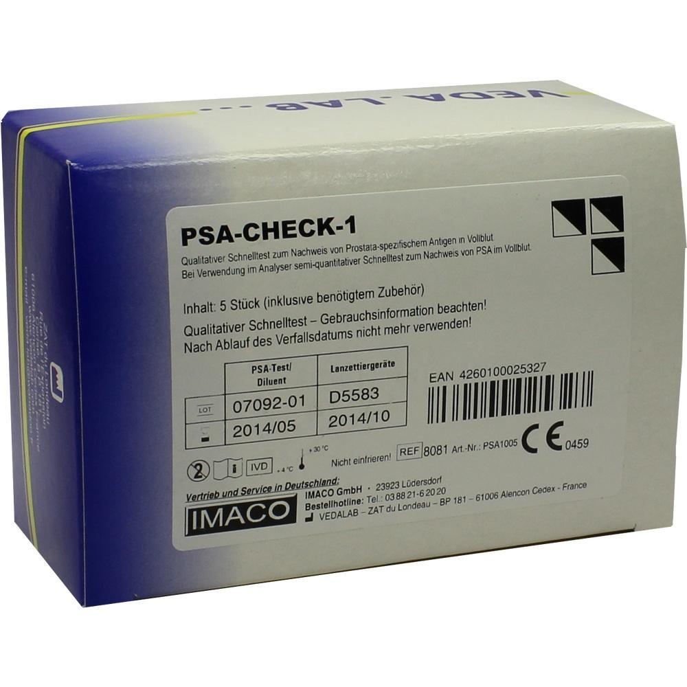 PSA Check 1 Test