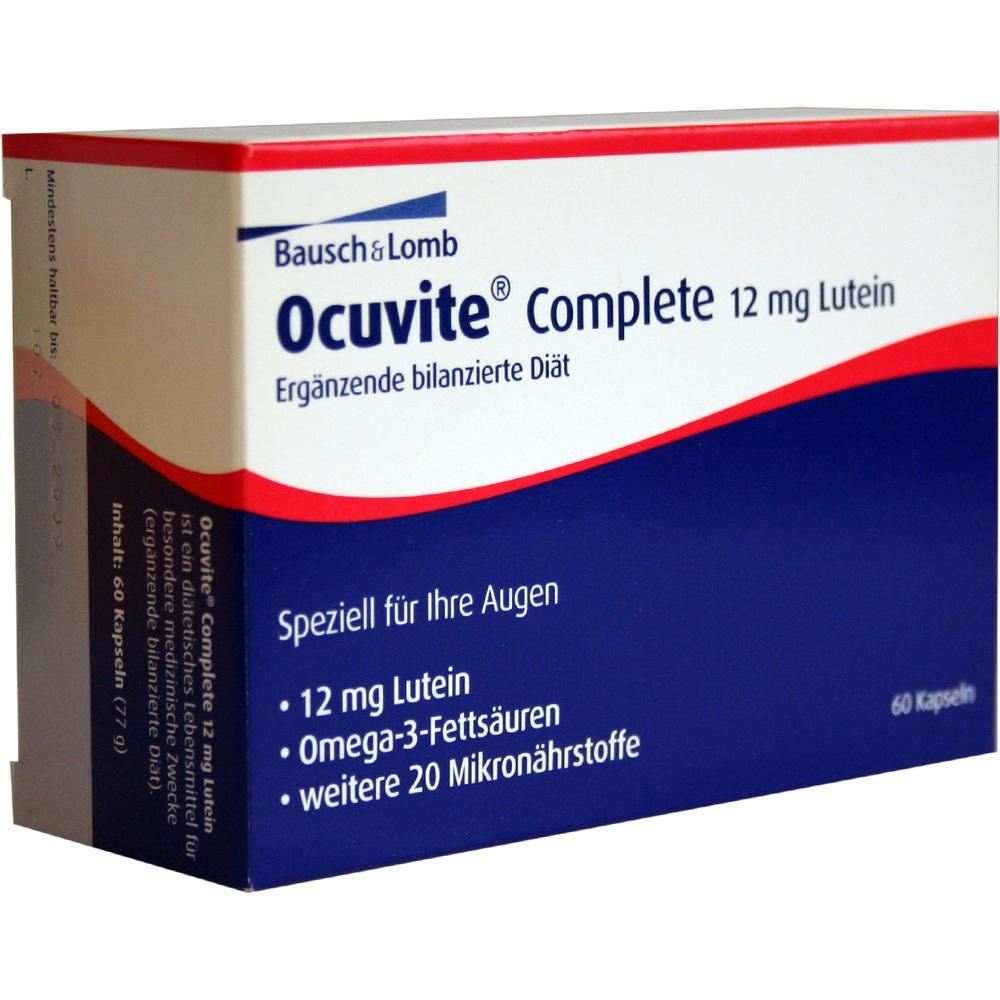 04871513, Ocuvite complete 12mg Lutein, 60 ST