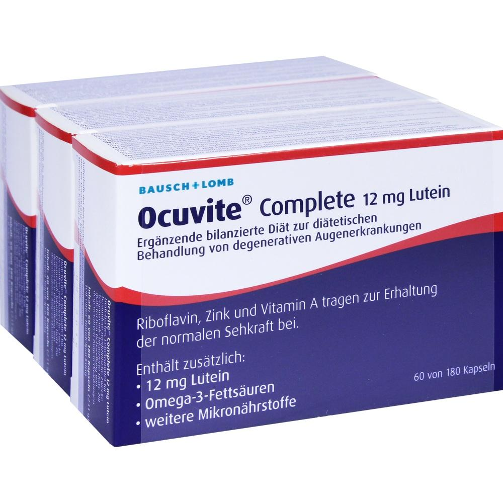04871542, Ocuvite complete 12mg Lutein, 180 ST
