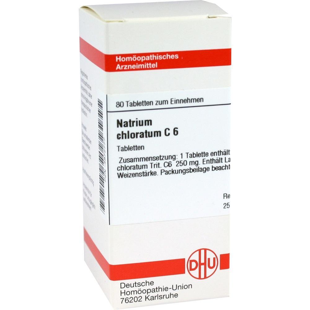NATRIUM CHLORATUM C 6 Tabletten