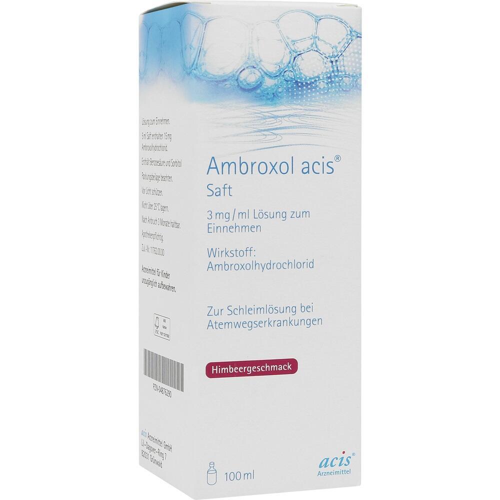 04876290, AMBROXOL ACIS SAFT, 100 ML