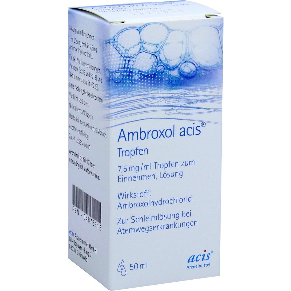 04876315, AMBROXOL ACIS Tropfen, 50 ML