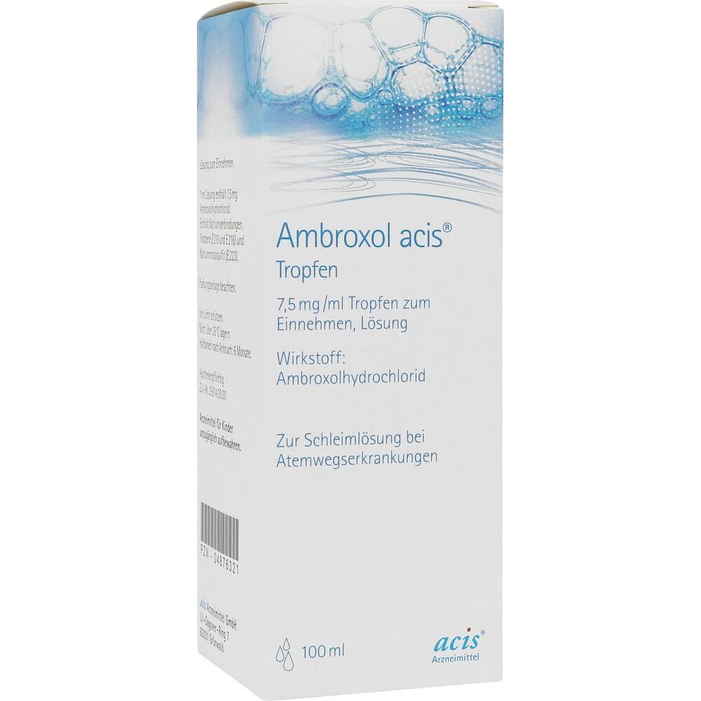 04876321, AMBROXOL ACIS Tropfen, 100 ML