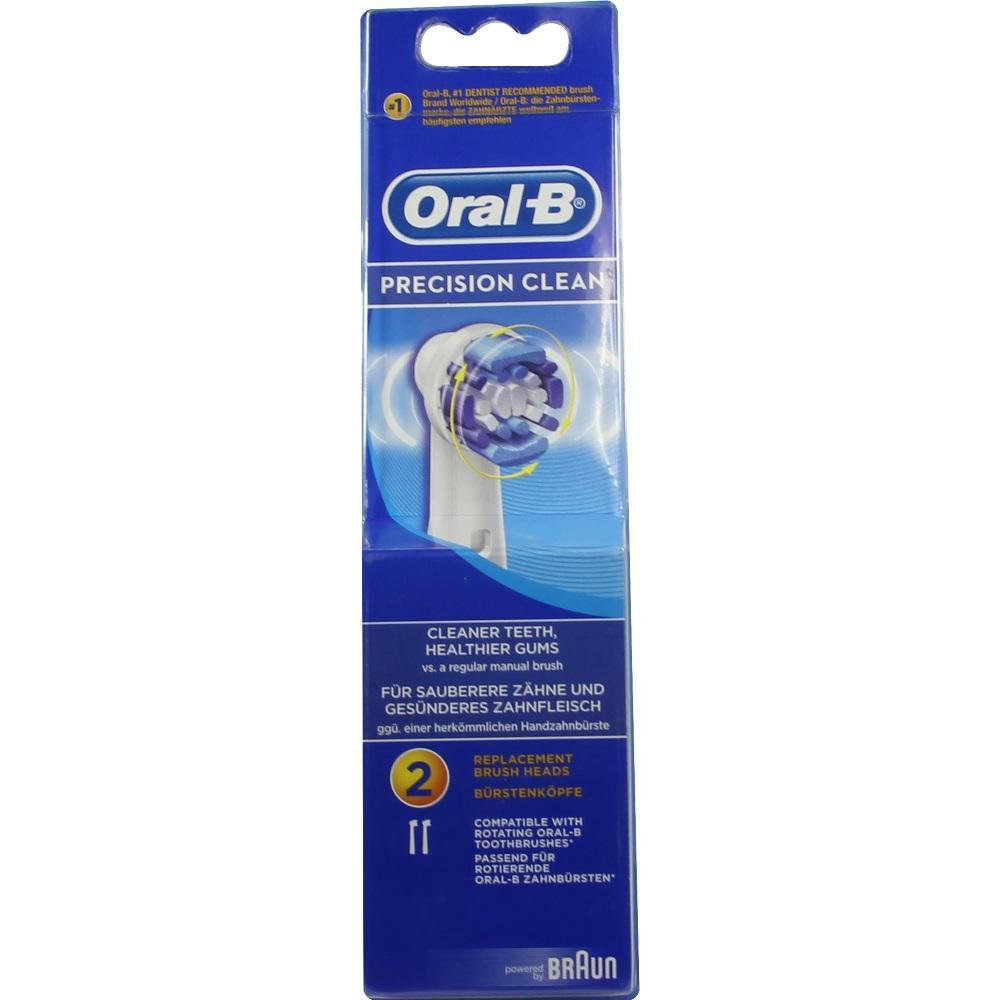 04891036, Oral-B Aufsteckbürsten Precision Clean 2er, 2 ST
