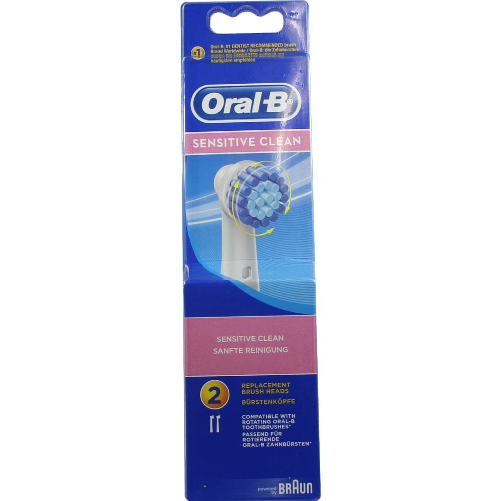 04892395, Oral-B Aufsteckbürsten Sensitive 2er, 2 ST