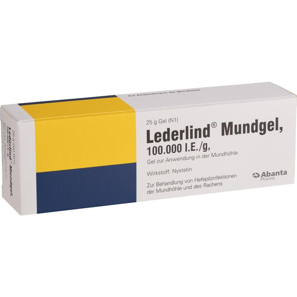 04900657, LEDERLIND MUNDGEL, 25 G