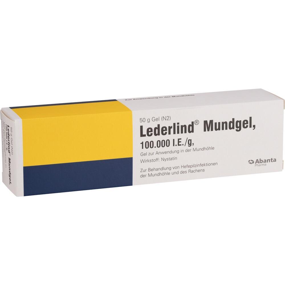 04900663, Lederlind Mundgel, 50 G