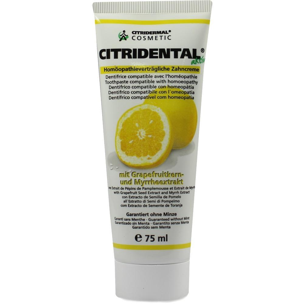04911359, Citridental-Zahncreme, 75 ML