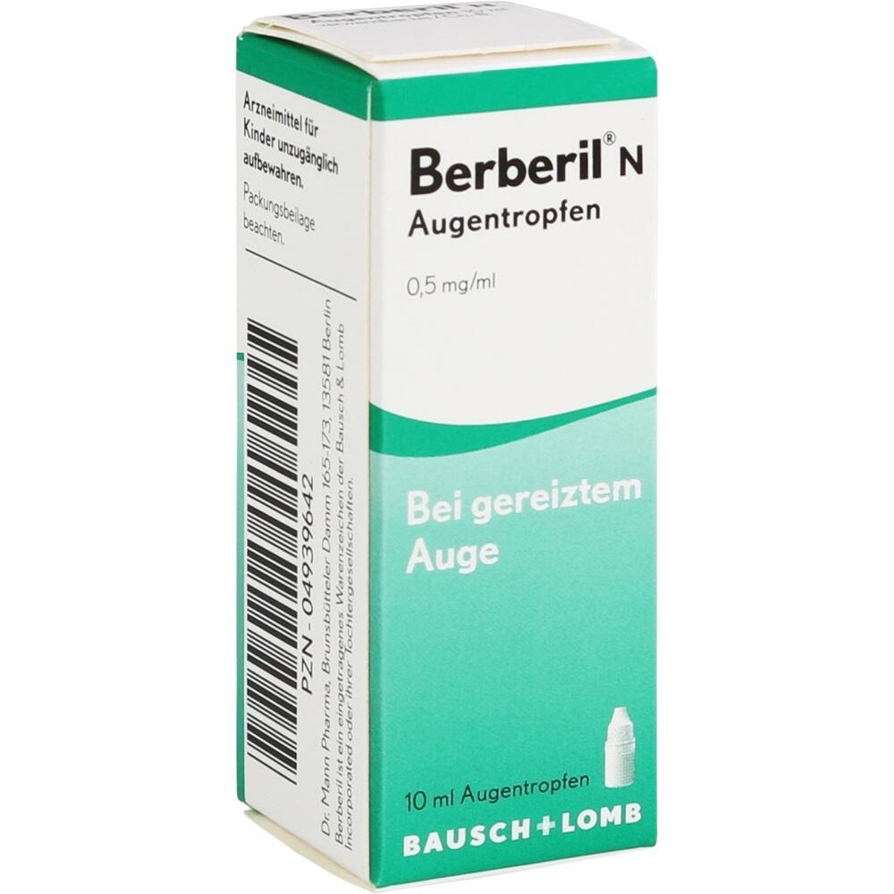 04939642, BERBERIL N AUGENTROPFEN, 10 ML