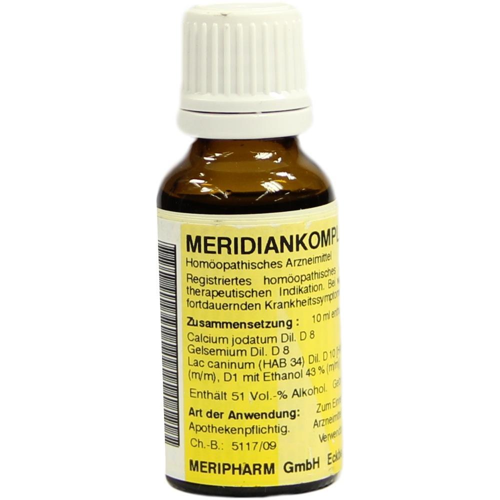 MERIDIANKOMPLEX 15 Tropfen zum Einnehmen