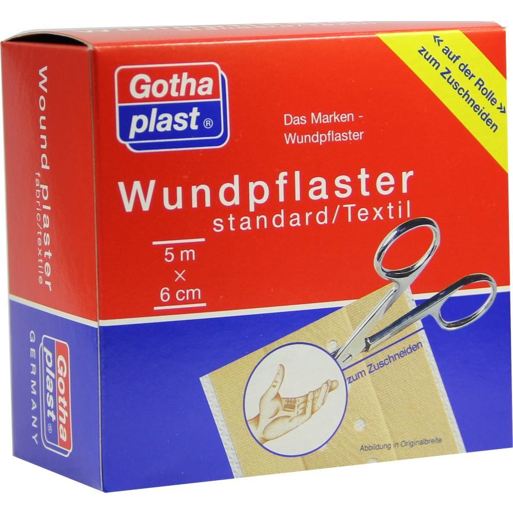 GOTHAPLAST Wundpfl.stand.6 cmx5 m Rolle