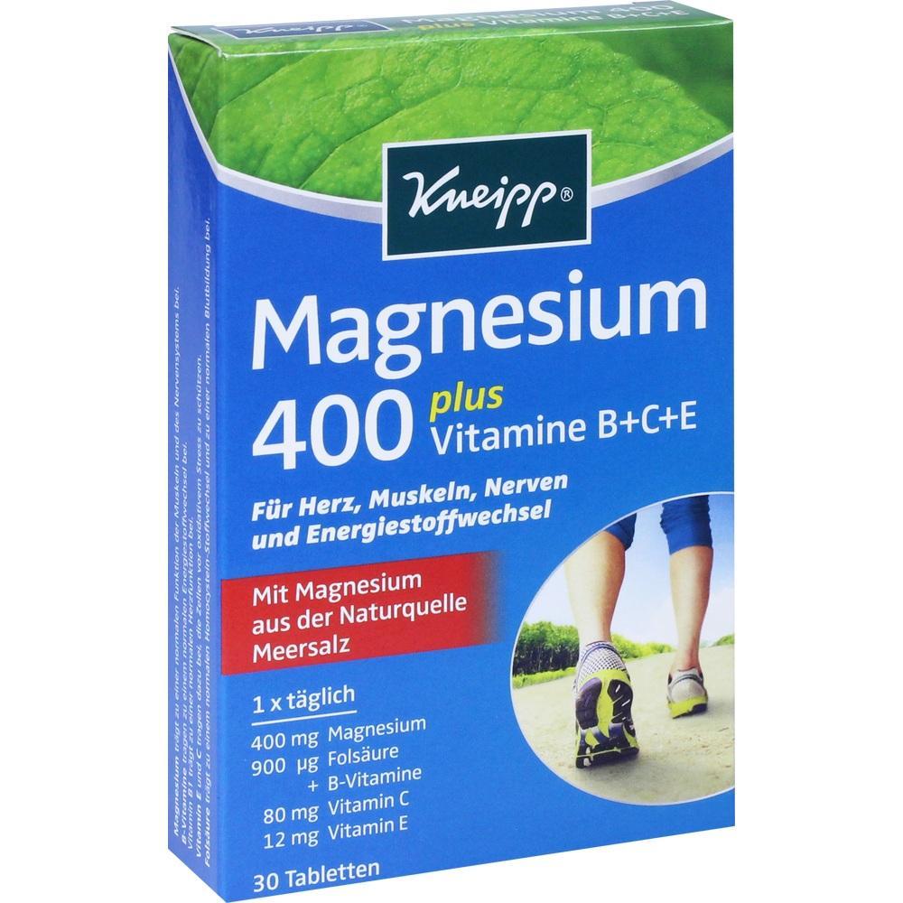 04965728, Kneipp Magnesium 400, 30 ST