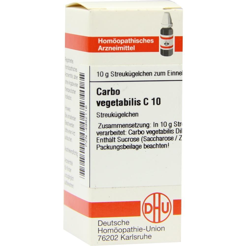 CARBO VEGETABILIS C 10 Globuli