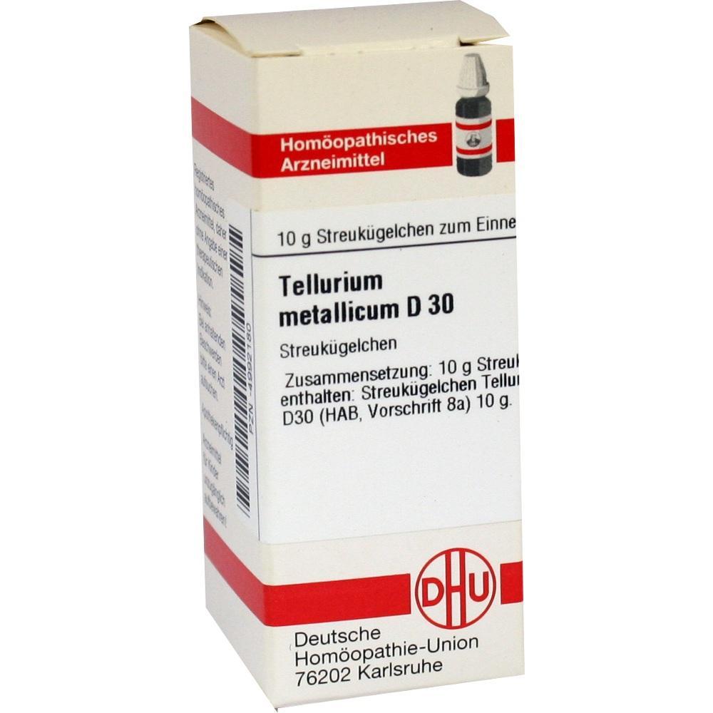 TELLURIUM metallicum D 30 Globuli