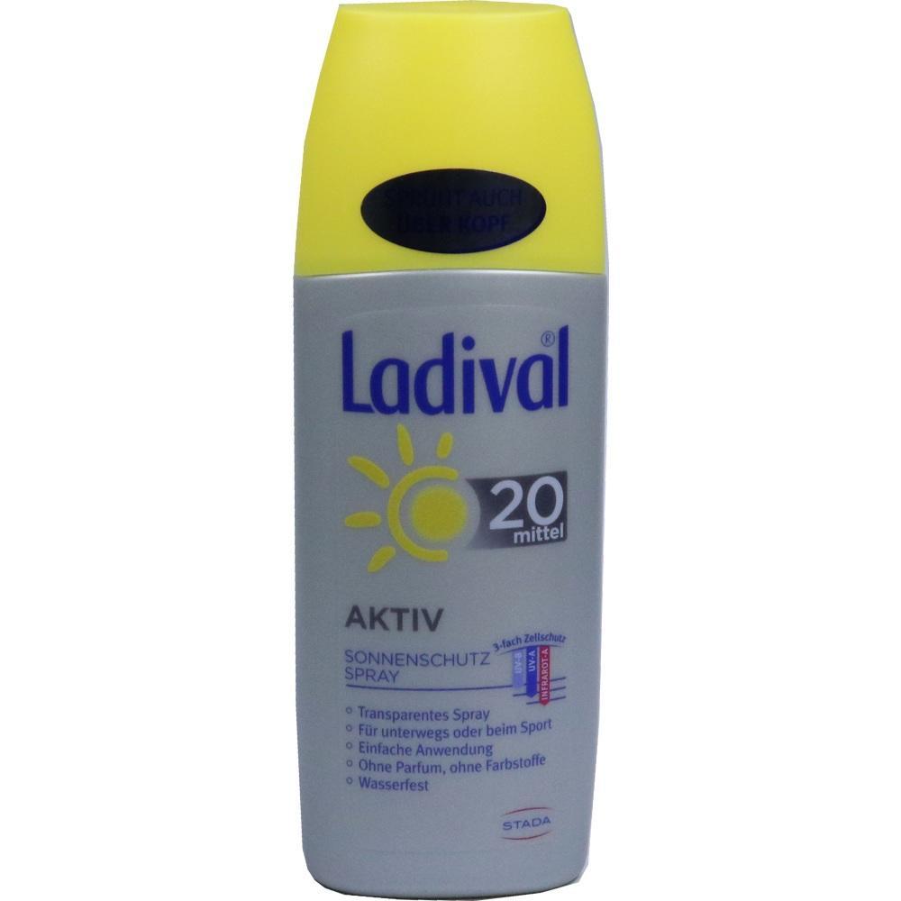 05012456, Ladival sonnenschutzspray LSF20, 150 ML