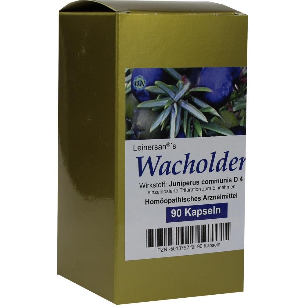 WACHOLDER KAPSELN
