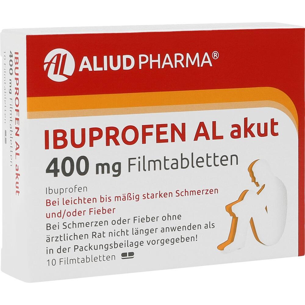 05020869, Ibuprofen AL akut 400mg Filmtabletten, 10 ST