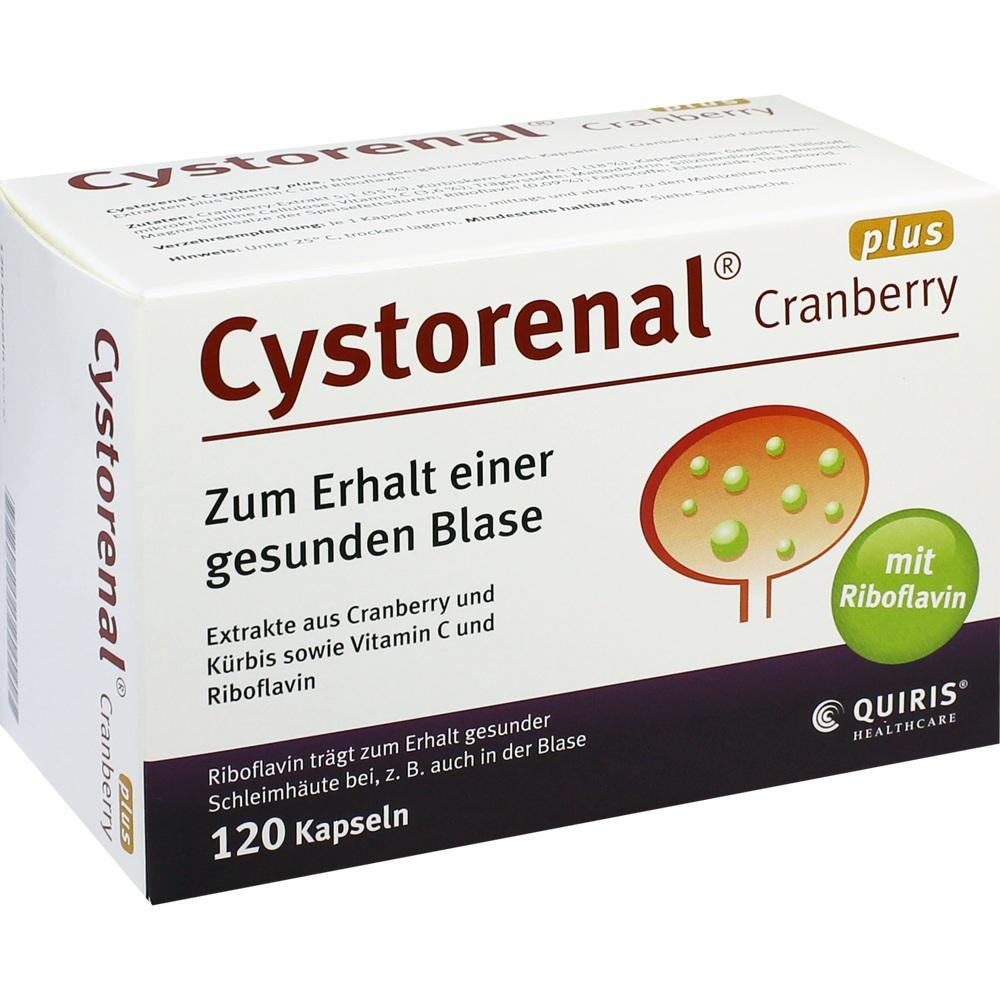 05022555, Cystorenal Cranberry plus, 120 ST