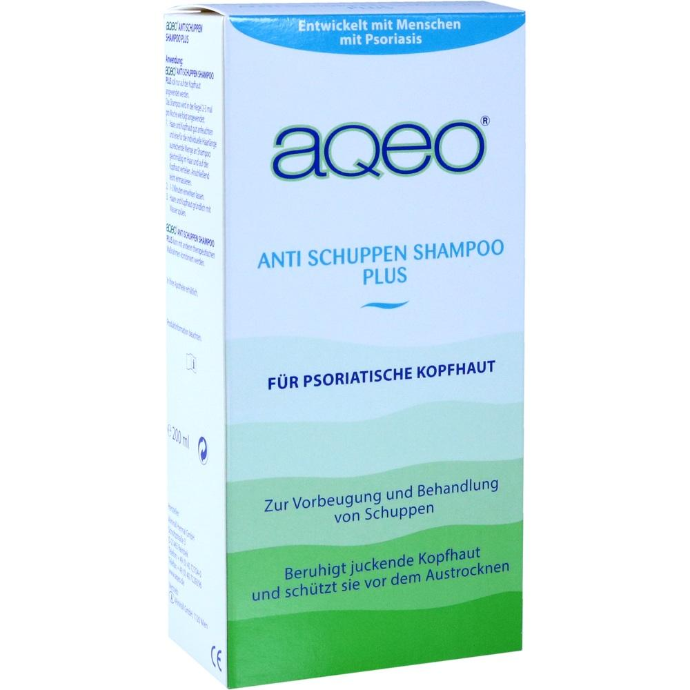 AQEO Anti Schuppenshampoo Plus