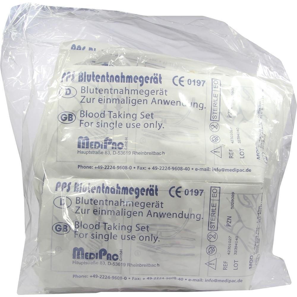 PPS Blutentnahmegerät 1,8 mm Rollklemme