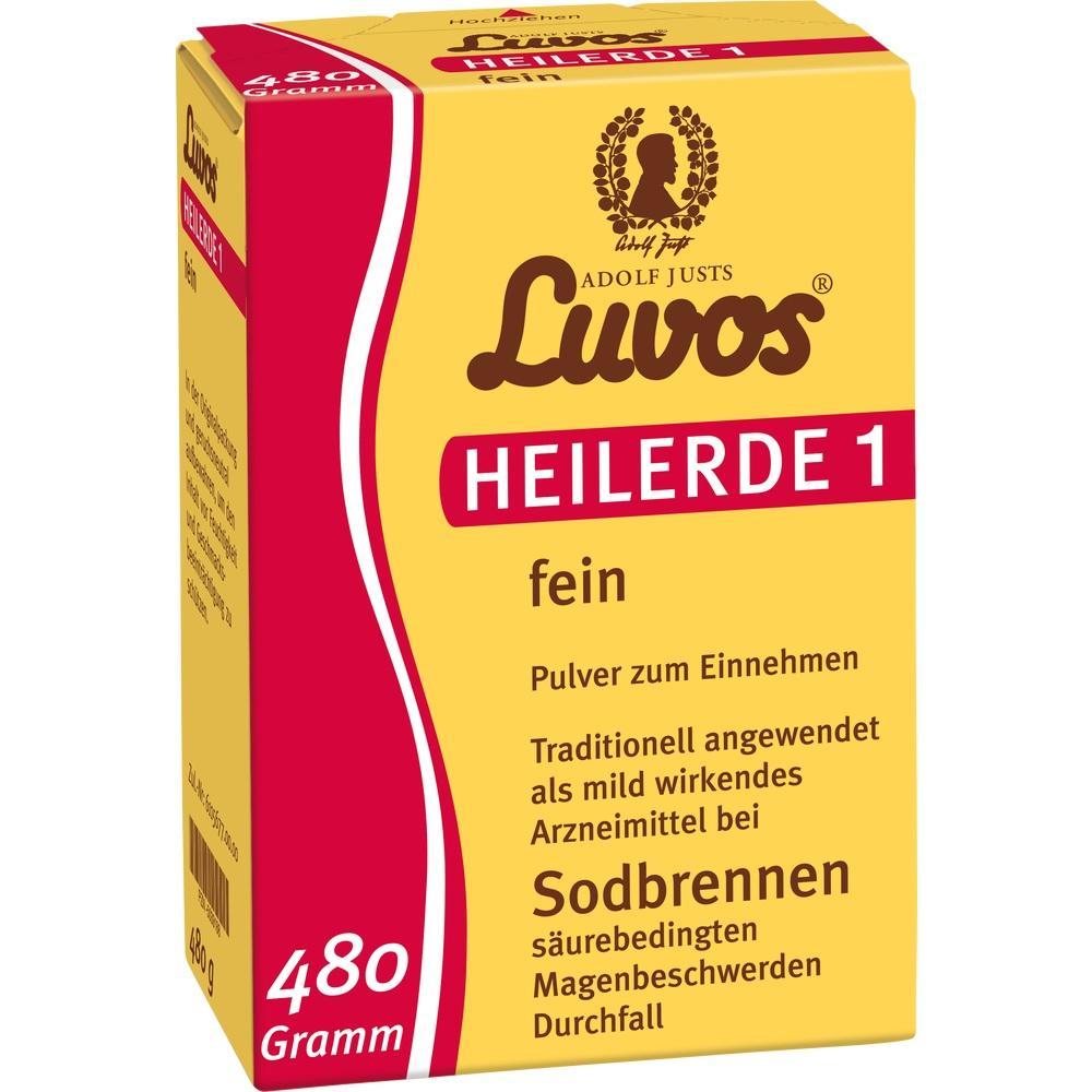 05039188, Luvos Heilerde 1 fein, 480 G