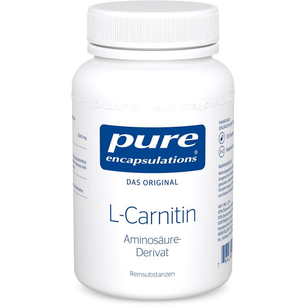 05131221, PURE ENCAPSULATIONS L-CARNITIN, 120 ST