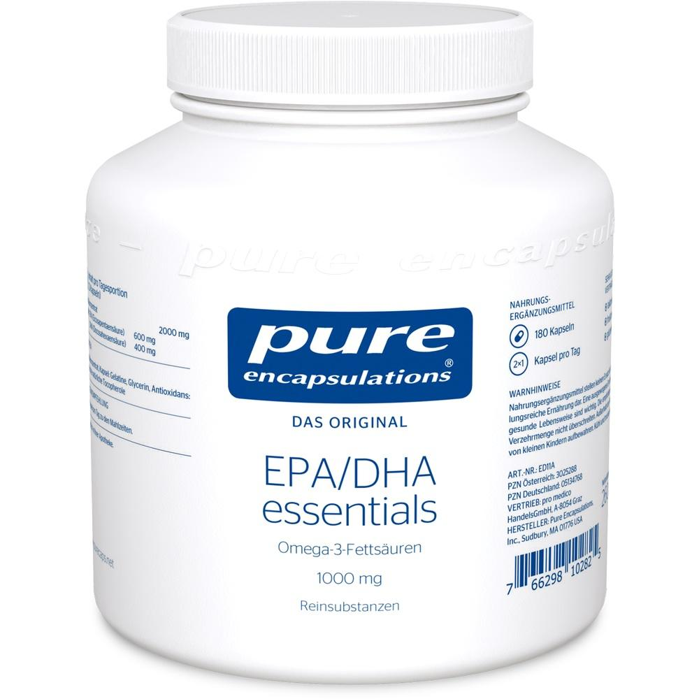 05134768, PURE ENCAPSULATIONS EPA/DHA ESSENTIALS 1000MG, 180 ST