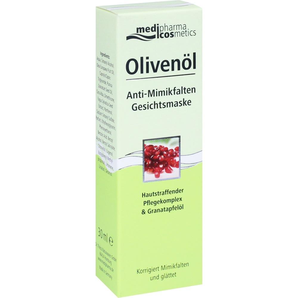 05139174, Olivenöl Anti-Mimikfalten Gesichtsmaske, 30 ML