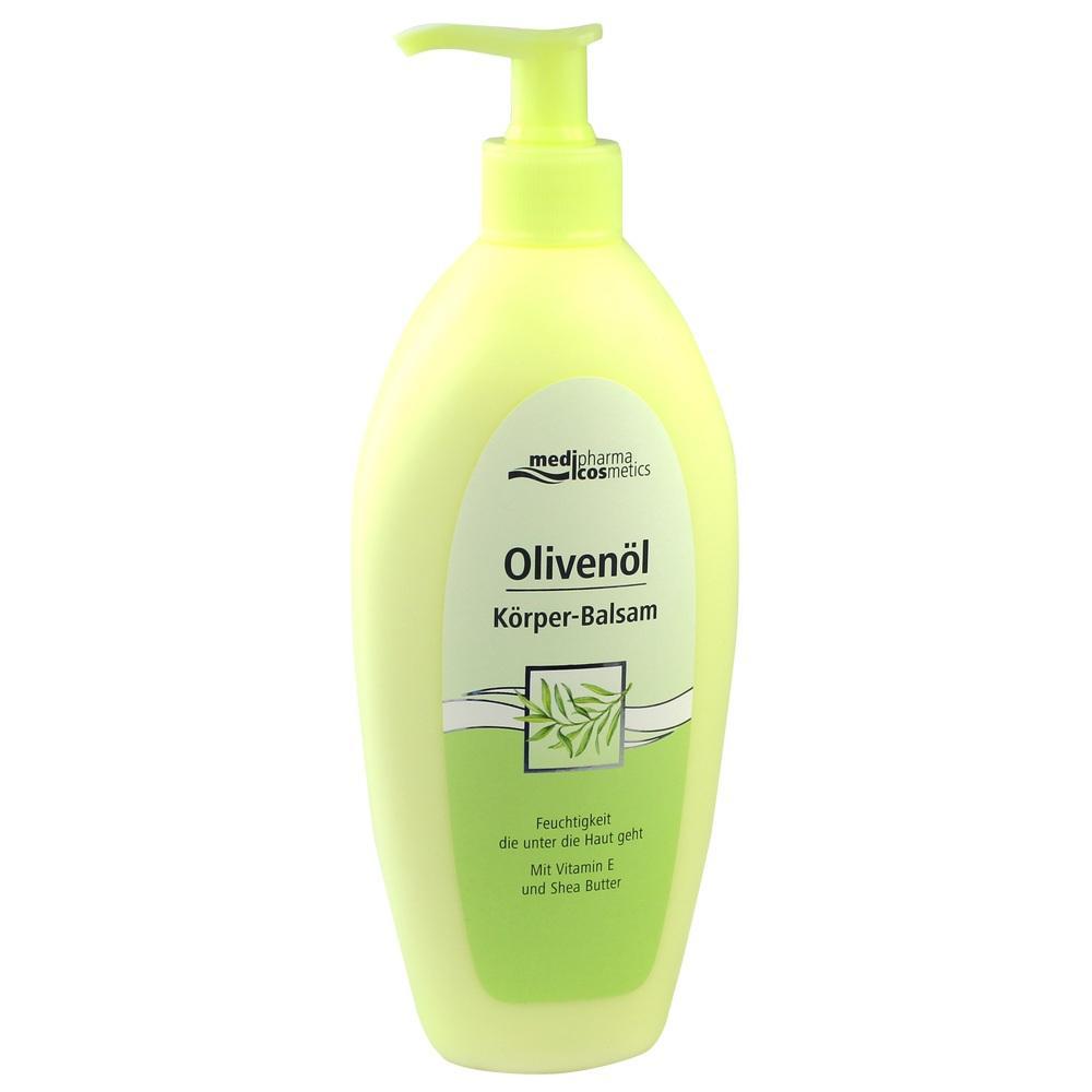 05139300, Olivenöl Körper-Balsam im Spender, 500 ML