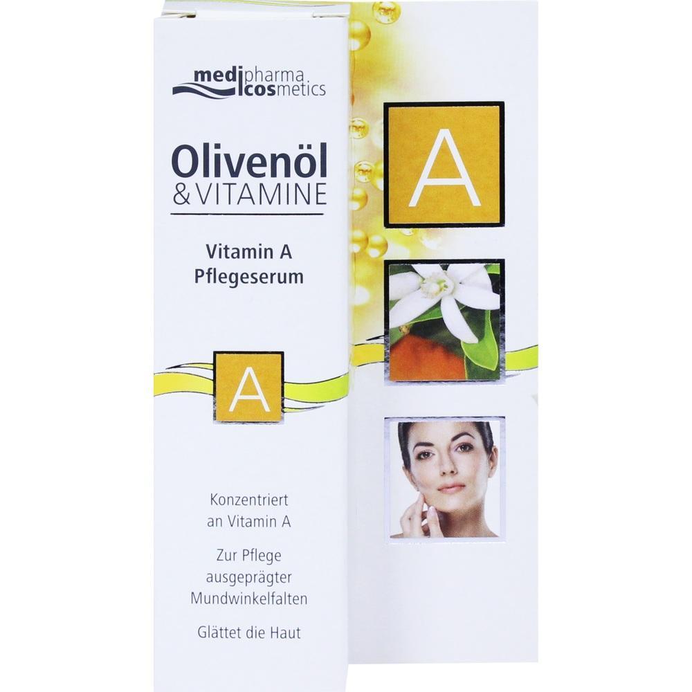 05357072, Olivenöl & Vitamin A Pflegeserum, 15 ML