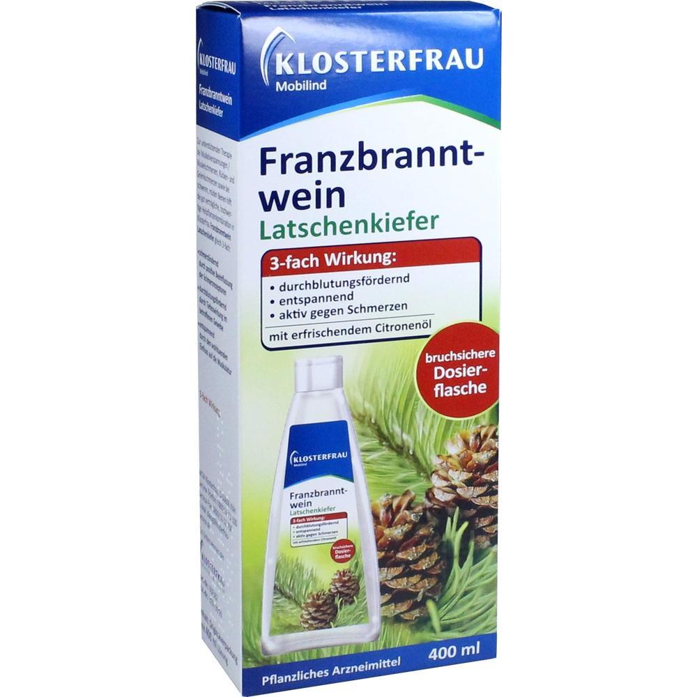 05360826, Klosterfrau Franzbranntwein Dosierfl.Latschenkief., 400 ML