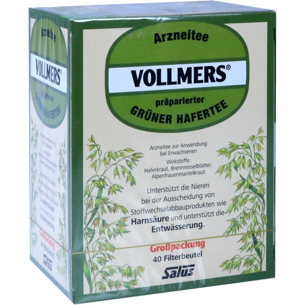 05371899, Vollmers präparierter Grüner Hafertee, 40 ST