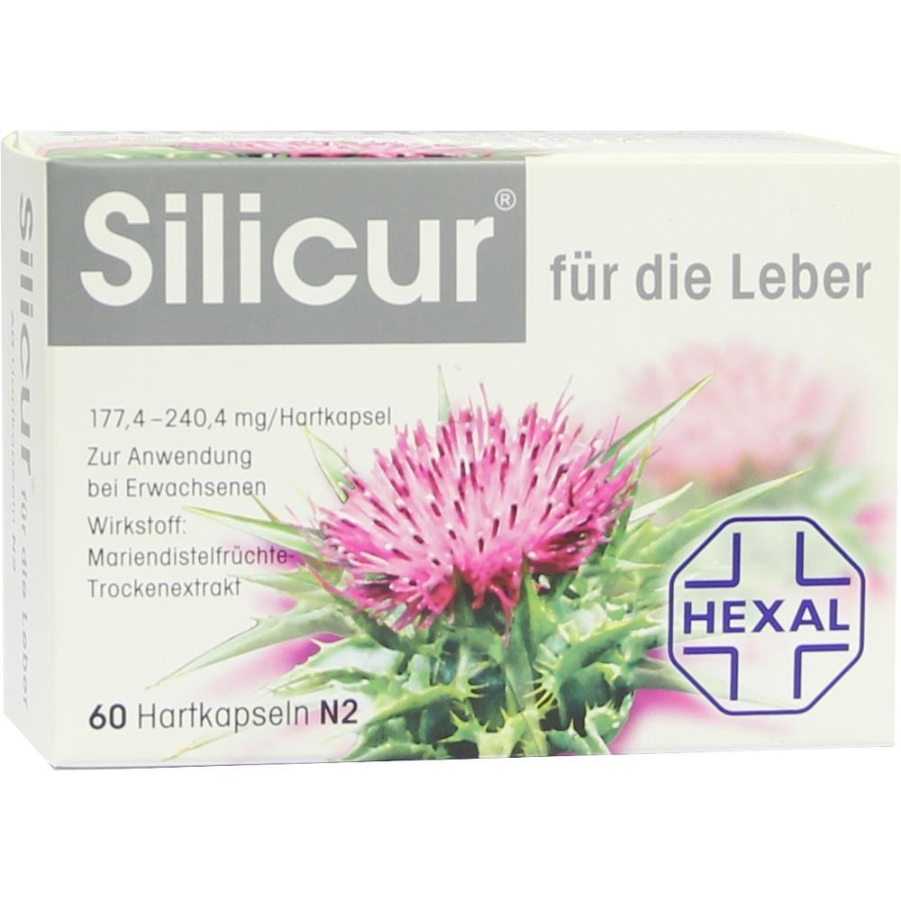 05375058, Silicur für die Leber, 60 ST