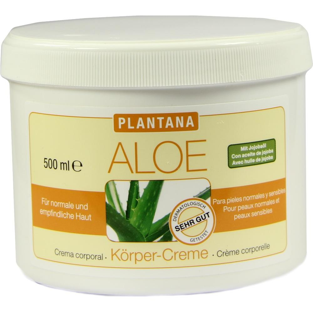05375615, Plantana Aloe Vera Körper-Creme, 500 ML