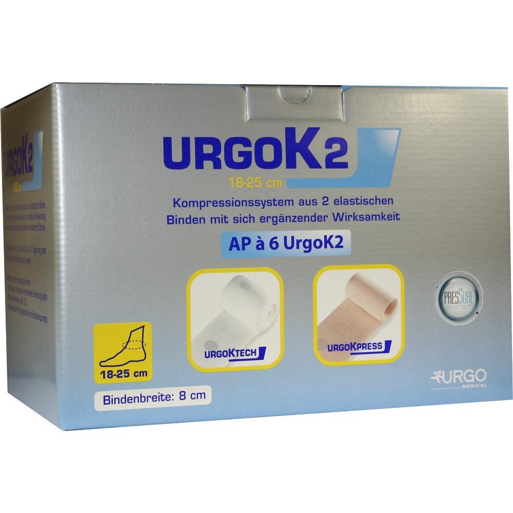 URGOK2 Kompr.Syst.8cm Knöchelumf.18-25cm